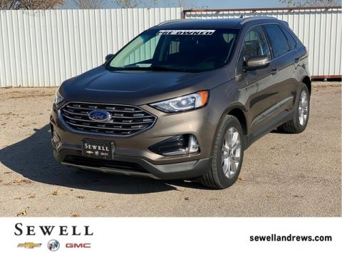 Pre-Owned 2019 Ford Edge Titanium FWD 4D Sport Utility