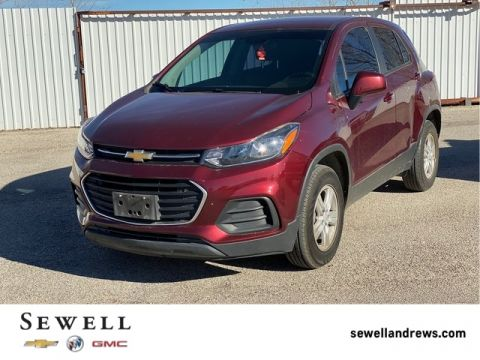 Pre-Owned 2017 Chevrolet Trax LS AWD 4D Sport Utility